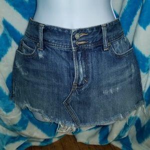 Abercrombie Jean Skirt Size 2